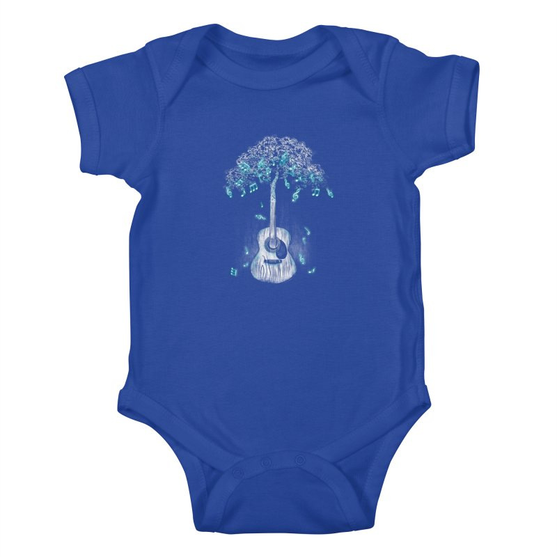 Sound of Nature Kids Baby Bodysuit by Jun087