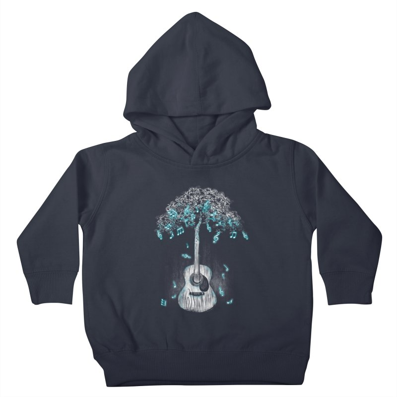 Sound of Nature Kids Toddler Pullover Hoody by Jun087