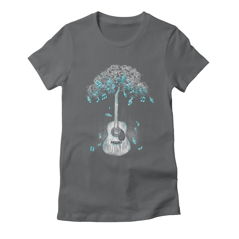 Sound of Nature Women's Fitted T-Shirt by Jun087