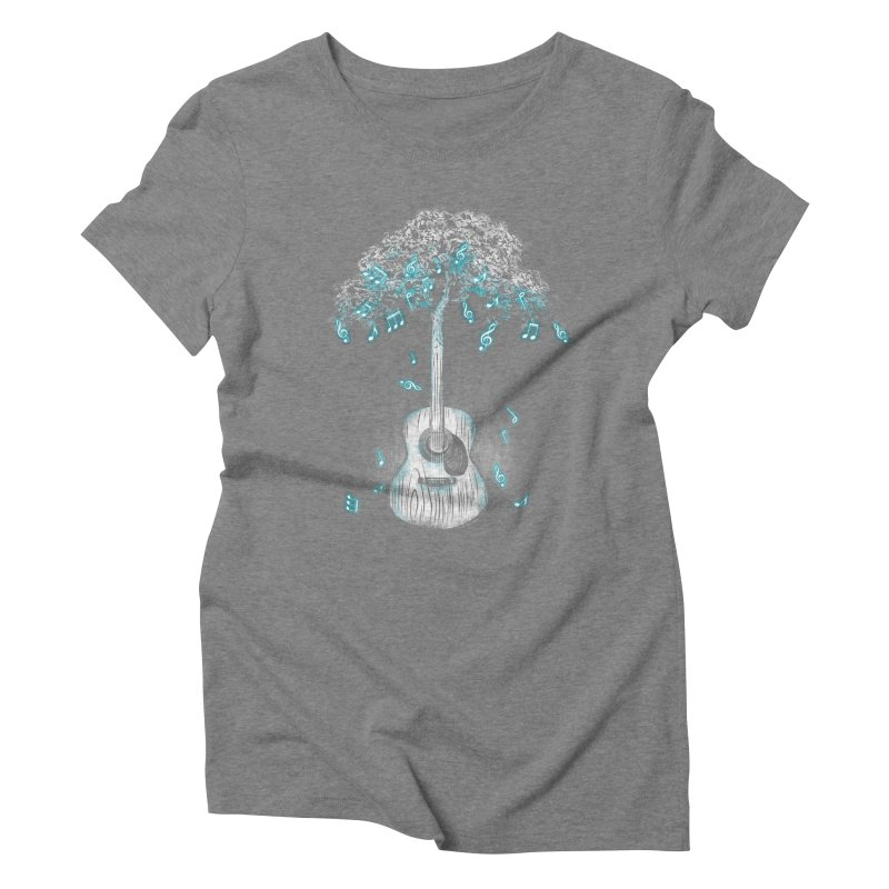 Sound of Nature Women's Triblend T-Shirt by Jun087