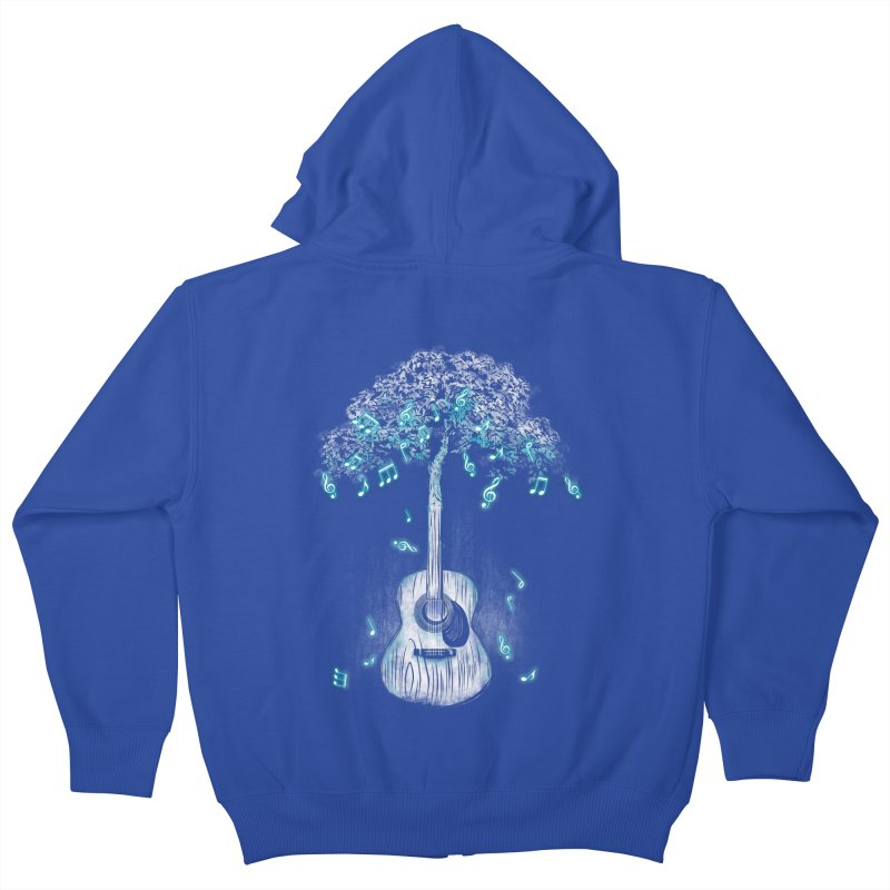 Sound of Nature Kids Zip-Up Hoody by Jun087
