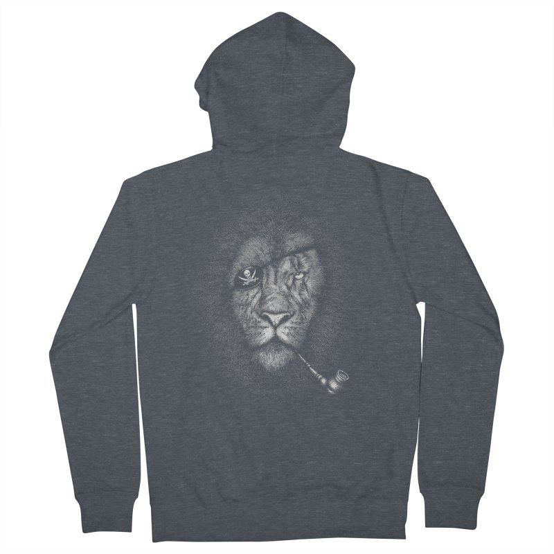 The King of Pirate Men's French Terry Zip-Up Hoody by Jun087