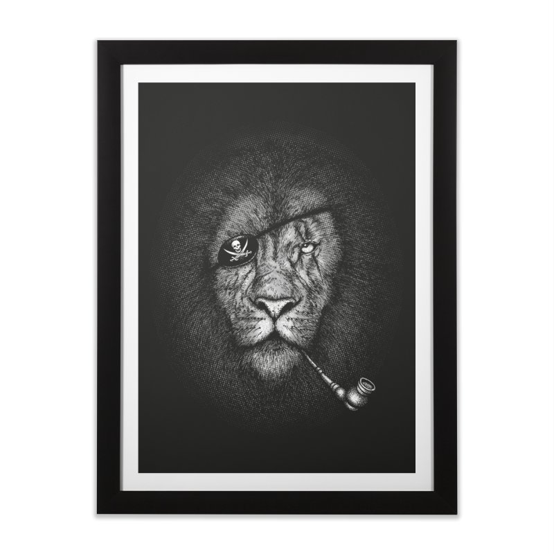 The King of Pirate Home Framed Fine Art Print by Jun087