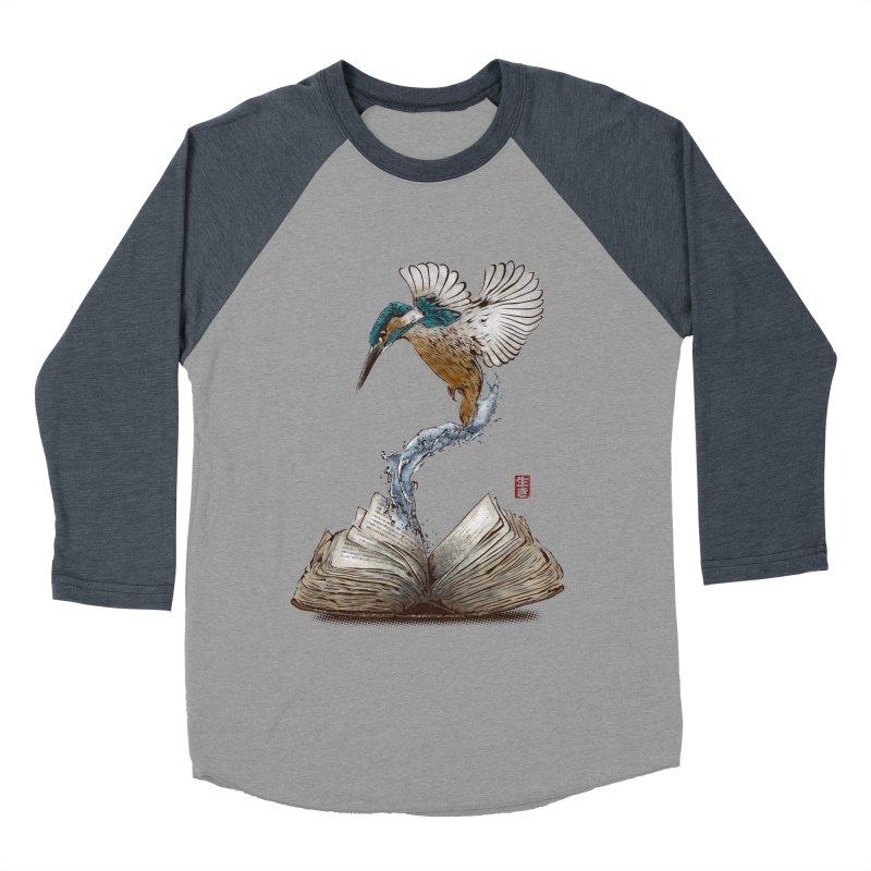 Alive Men's Baseball Triblend Longsleeve T-Shirt by Jun087