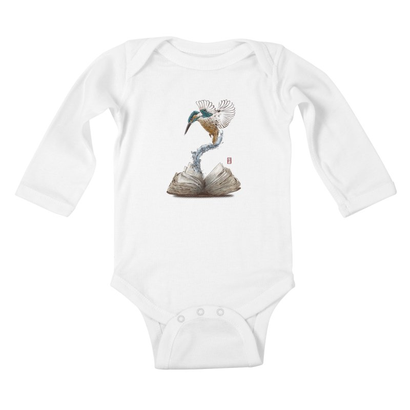 Alive Kids Baby Longsleeve Bodysuit by Jun087