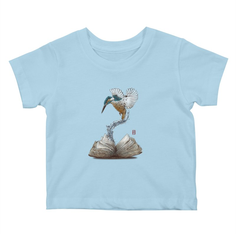 Alive Kids Baby T-Shirt by Jun087