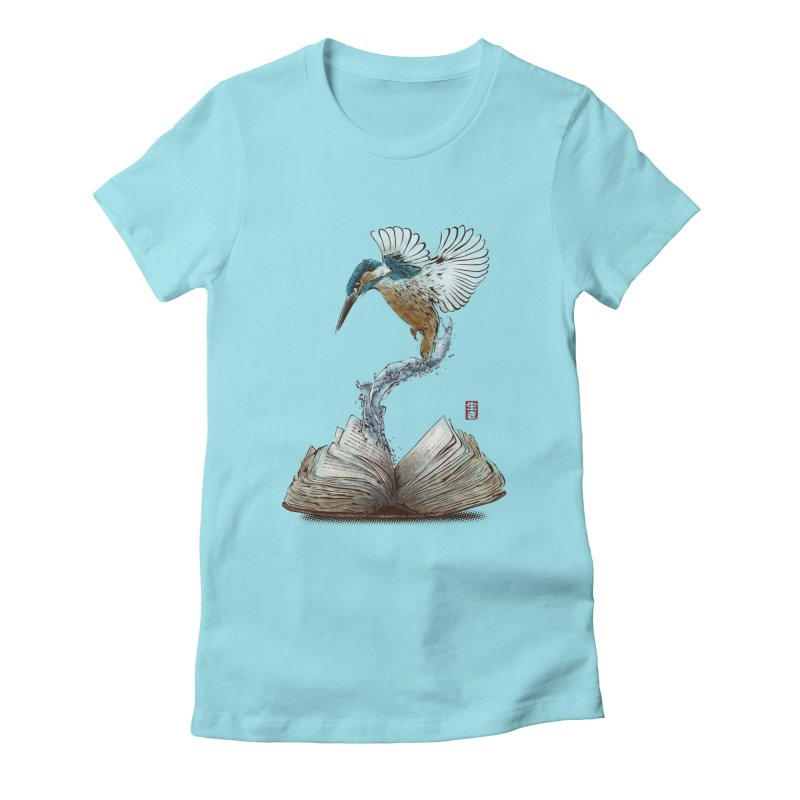 Alive Women's Fitted T-Shirt by Jun087