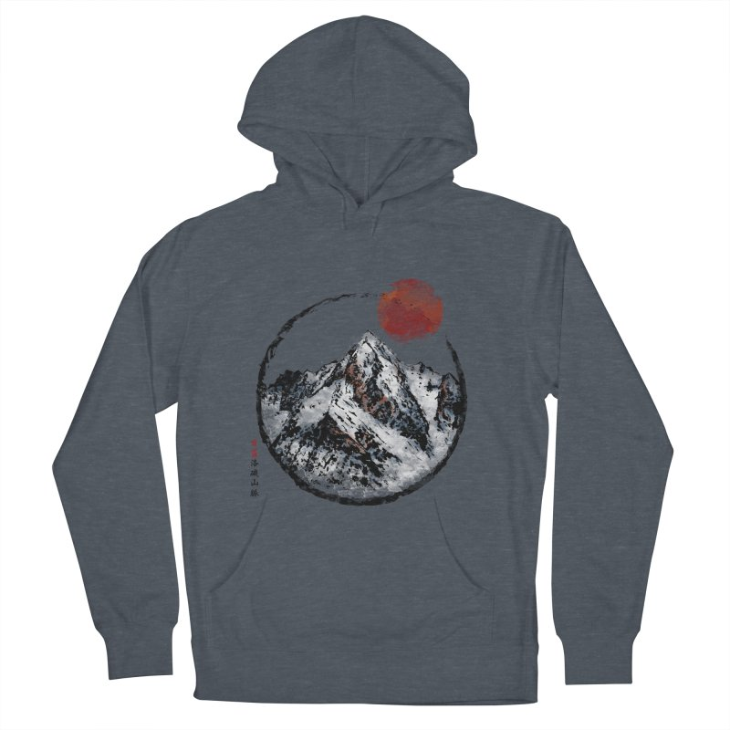 Sunset in Rocky Mountain Women's French Terry Pullover Hoody by Jun087