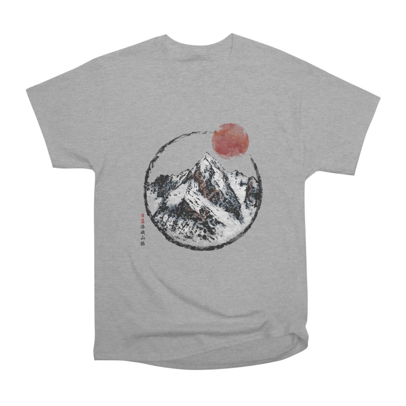 Sunset in Rocky Mountain Women's Heavyweight Unisex T-Shirt by Jun087
