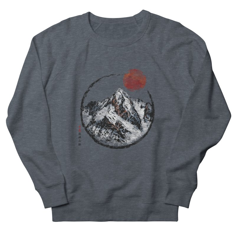 Sunset in Rocky Mountain Men's French Terry Sweatshirt by Jun087