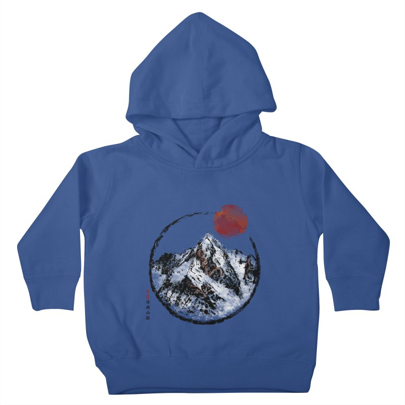 Sunset in Rocky Mountain Kids Toddler Pullover Hoody by Jun087