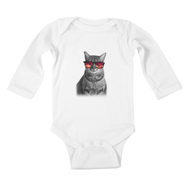 summer time  Kids Baby Longsleeve Bodysuit by jun21's Artist Shop