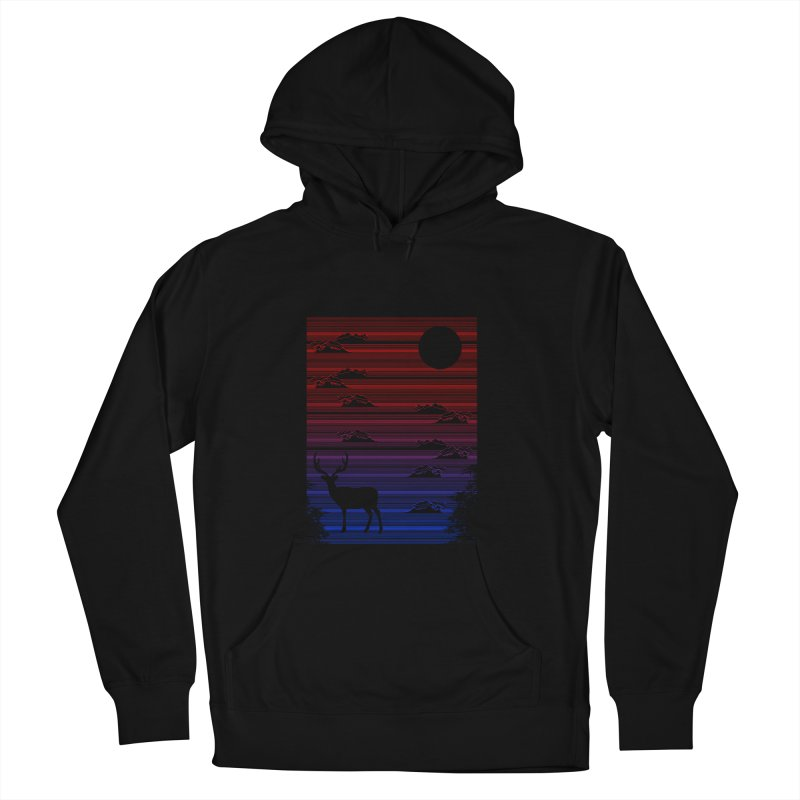 midnight lines  Women's Pullover Hoody by jun21's Artist Shop