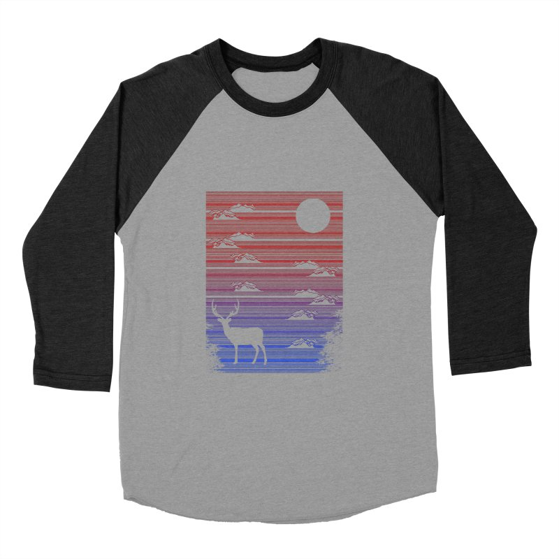 midnight lines  Men's Baseball Triblend T-Shirt by jun21's Artist Shop