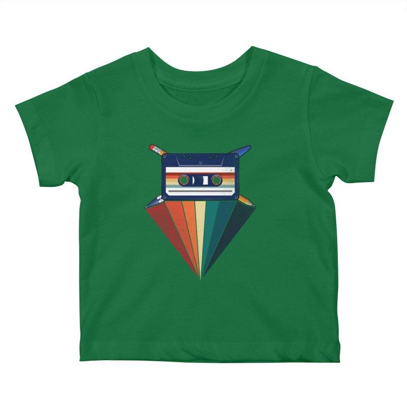 The Old School Kids Baby T-Shirt by jun21's Artist Shop
