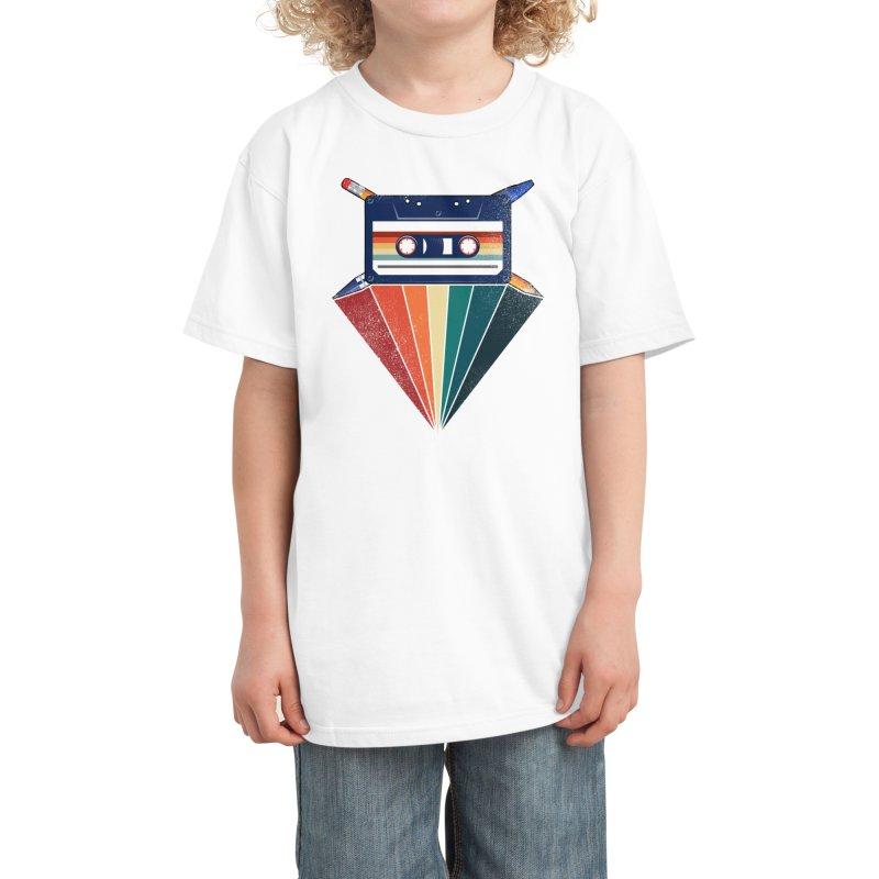 The Old School Kids T-Shirt by jun21's Artist Shop