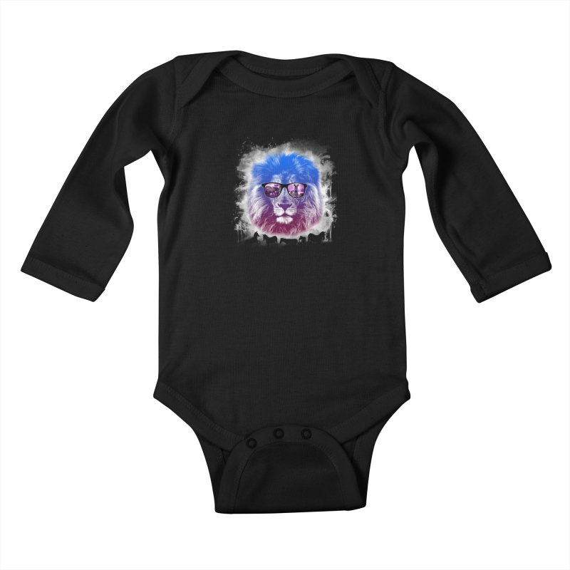 hunting time  Kids Baby Longsleeve Bodysuit by jun21's Artist Shop