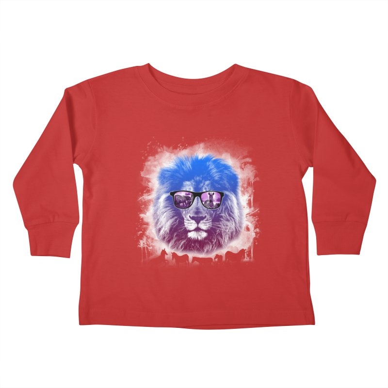 hunting time  Kids Toddler Longsleeve T-Shirt by jun21's Artist Shop