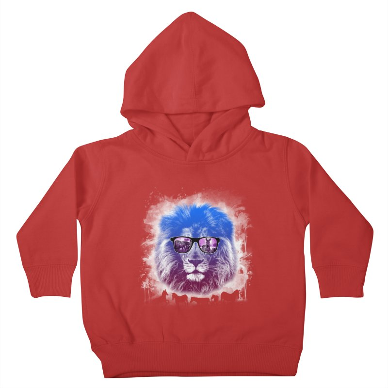 hunting time  Kids Toddler Pullover Hoody by jun21's Artist Shop