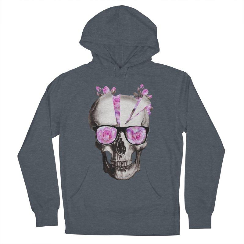 cool skull  Women's Pullover Hoody by jun21's Artist Shop