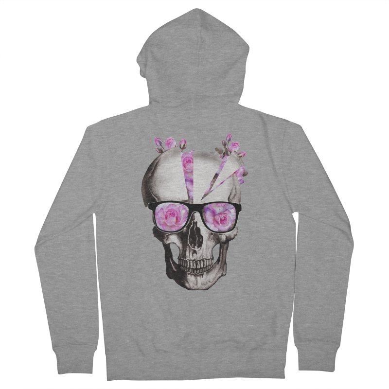 cool skull  Women's Zip-Up Hoody by jun21's Artist Shop