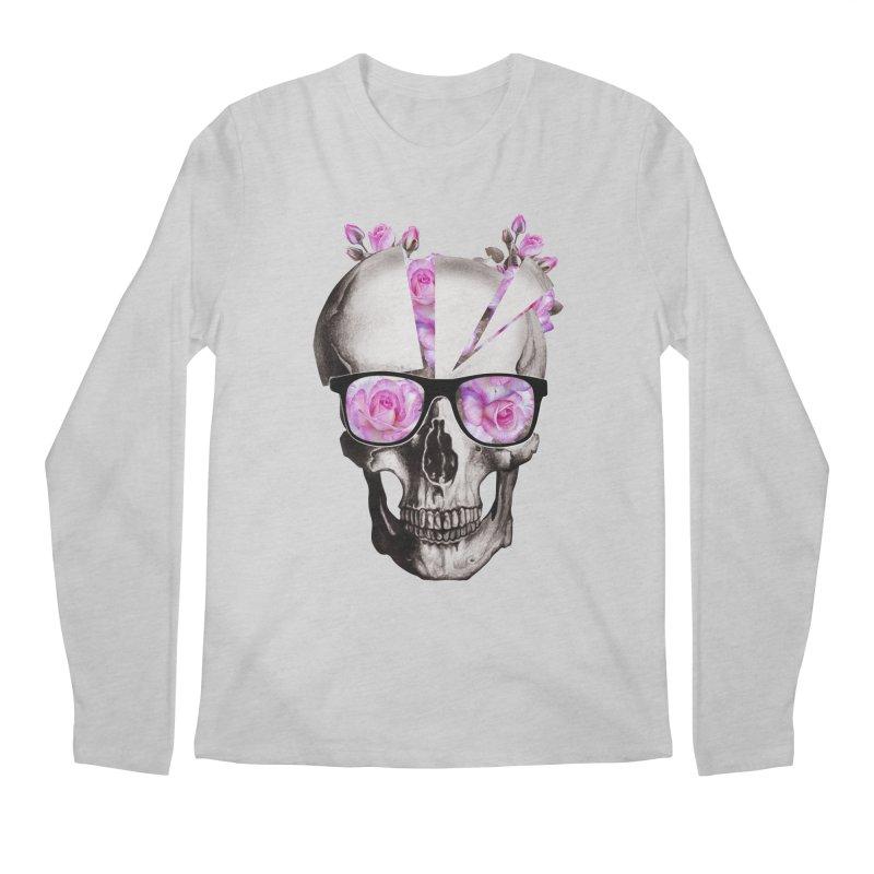 cool skull  Men's Longsleeve T-Shirt by jun21's Artist Shop