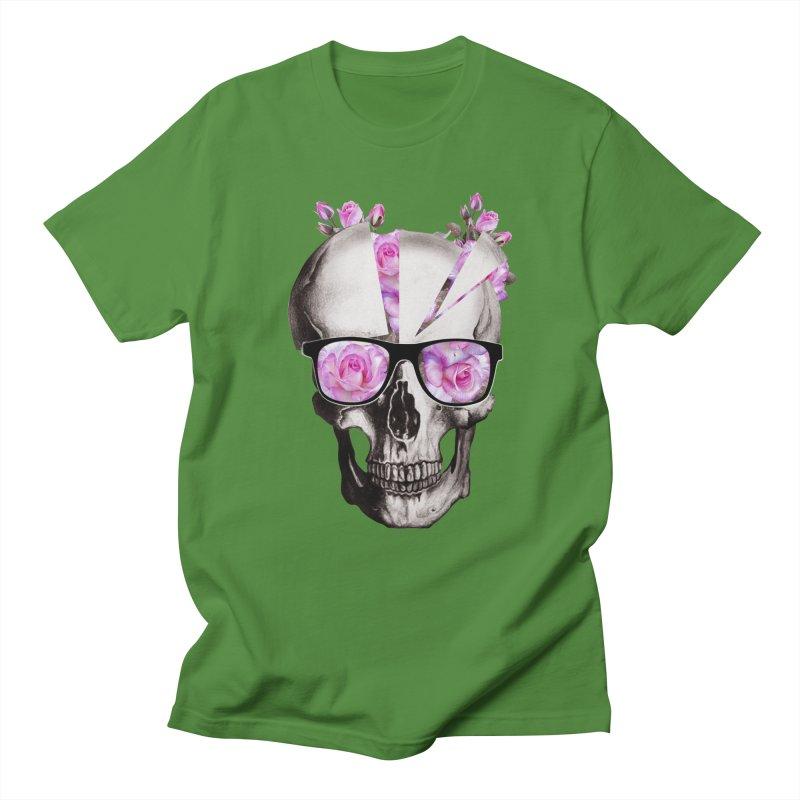 cool skull  Men's T-shirt by jun21's Artist Shop