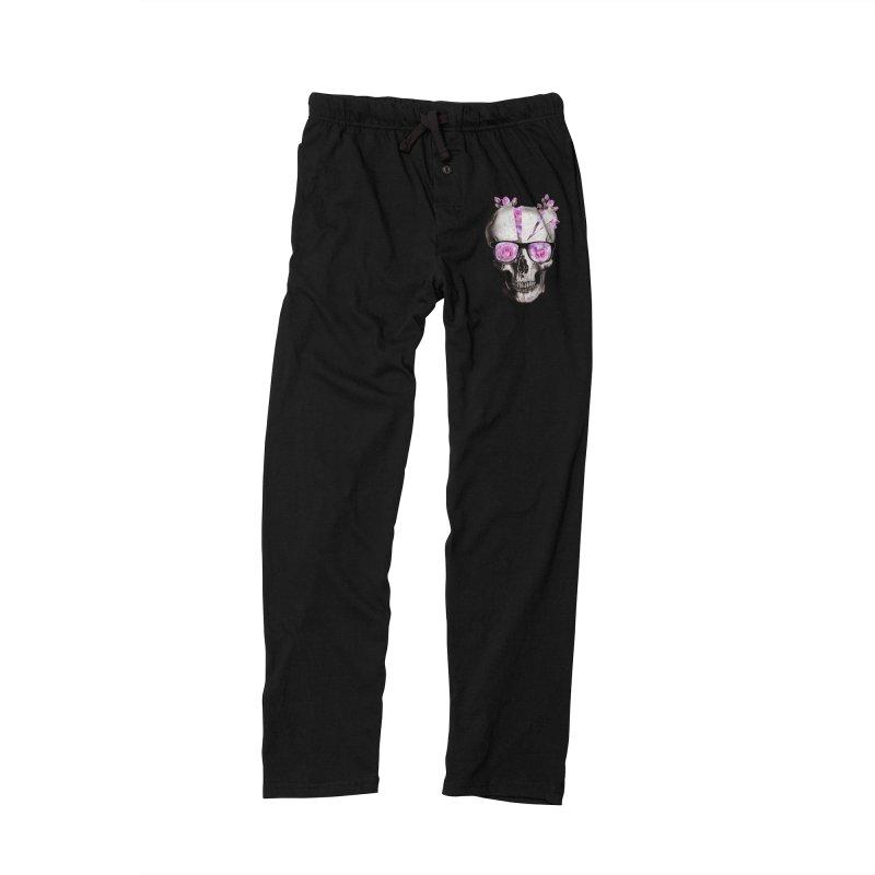 cool skull  Women's Lounge Pants by jun21's Artist Shop