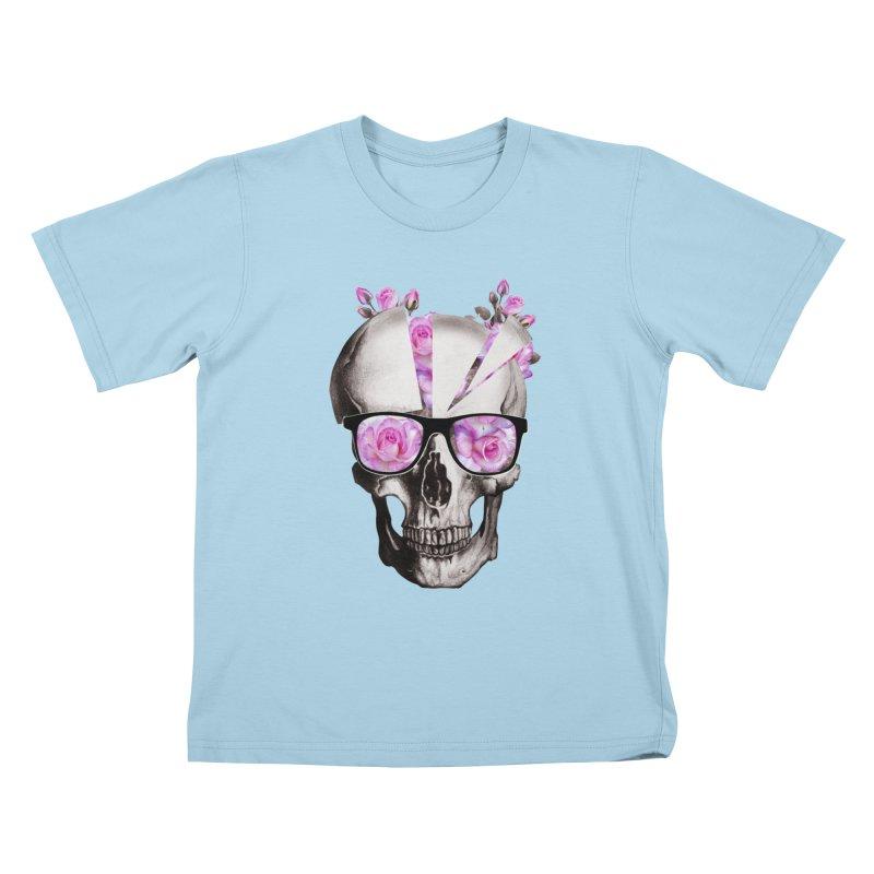 cool skull  Kids T-shirt by jun21's Artist Shop