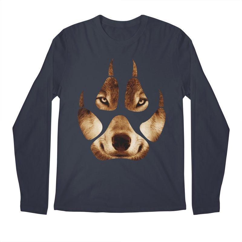wolf mark  Men's Longsleeve T-Shirt by jun21's Artist Shop