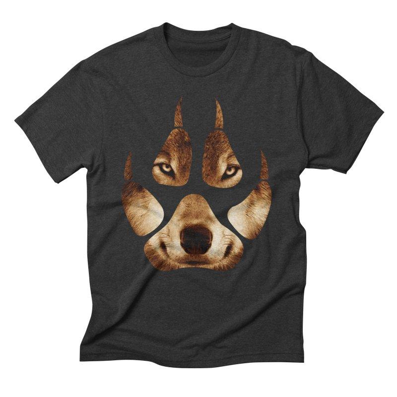 wolf mark  Men's Triblend T-shirt by jun21's Artist Shop