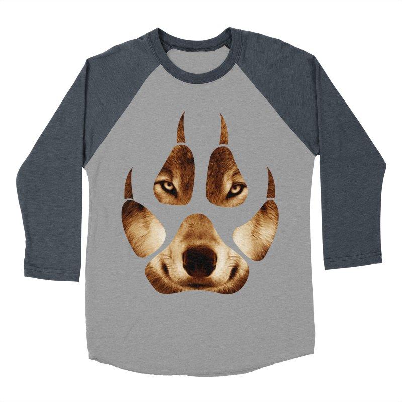 wolf mark  Women's Baseball Triblend T-Shirt by jun21's Artist Shop