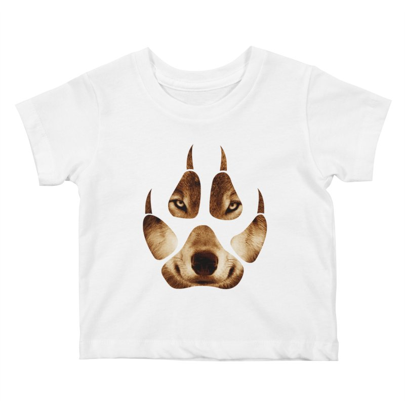wolf mark  Kids Baby T-Shirt by jun21's Artist Shop