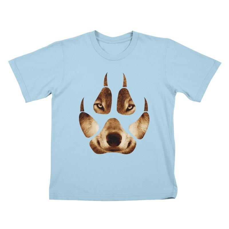 wolf mark  Kids T-shirt by jun21's Artist Shop