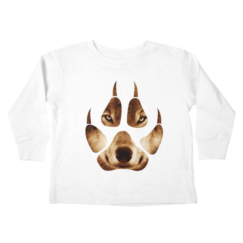 wolf mark  Kids Toddler Longsleeve T-Shirt by jun21's Artist Shop
