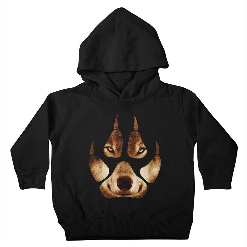 wolf mark  Kids Toddler Pullover Hoody by jun21's Artist Shop