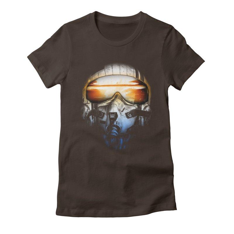 art of war Women's Fitted T-Shirt by jun21's Artist Shop
