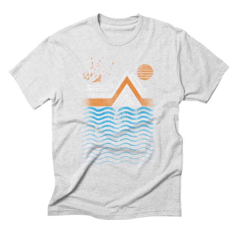 Sunset Men's Triblend T-Shirt by jun21's Artist Shop