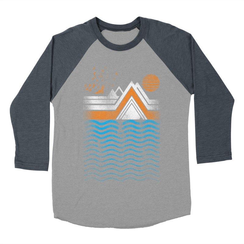Sunset Women's Baseball Triblend T-Shirt by jun21's Artist Shop