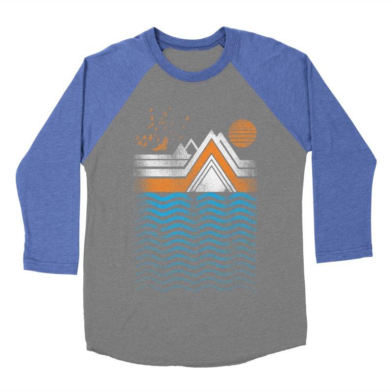 Sunset Men's Baseball Triblend T-Shirt by jun21's Artist Shop