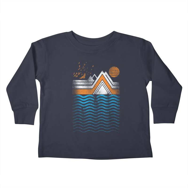 Sunset Kids Toddler Longsleeve T-Shirt by jun21's Artist Shop