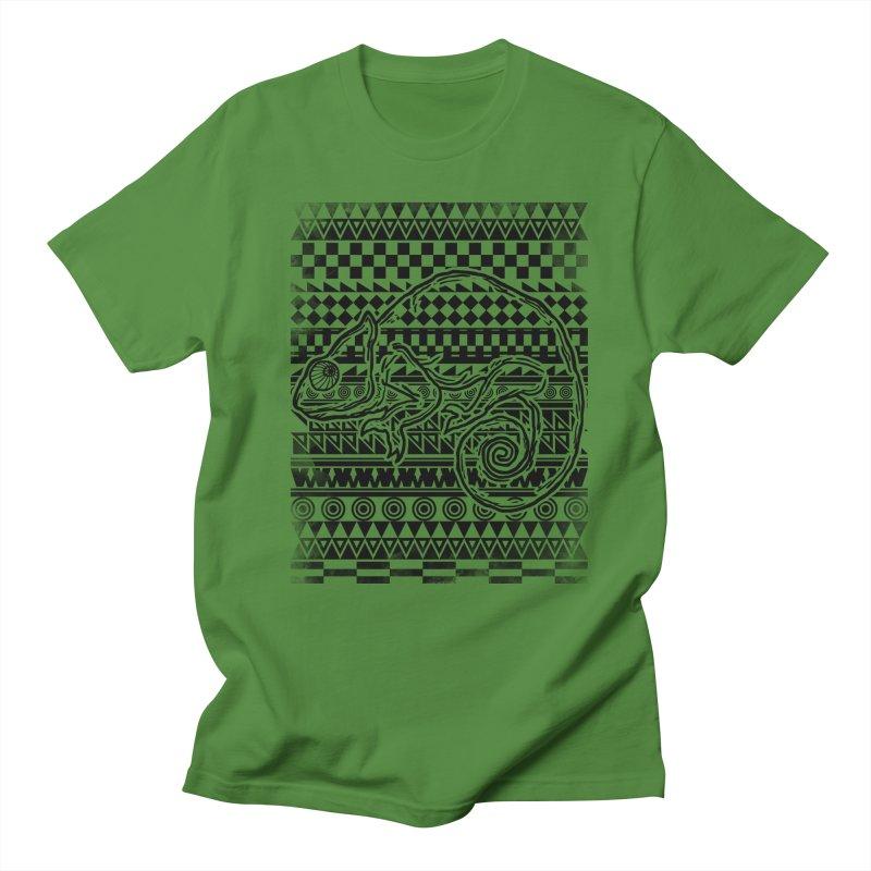 Chameleon Men's T-Shirt by jun21's Artist Shop