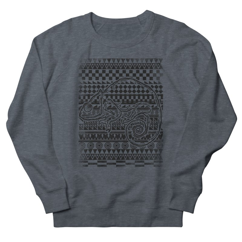 Chameleon Men's Sweatshirt by jun21's Artist Shop