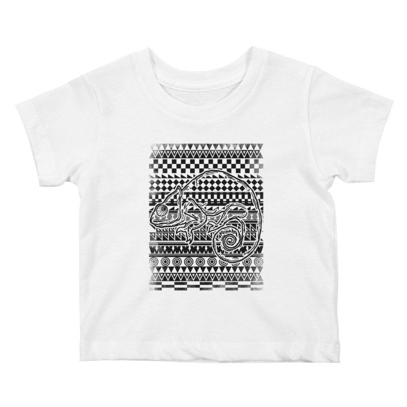 Chameleon Kids Baby T-Shirt by jun21's Artist Shop