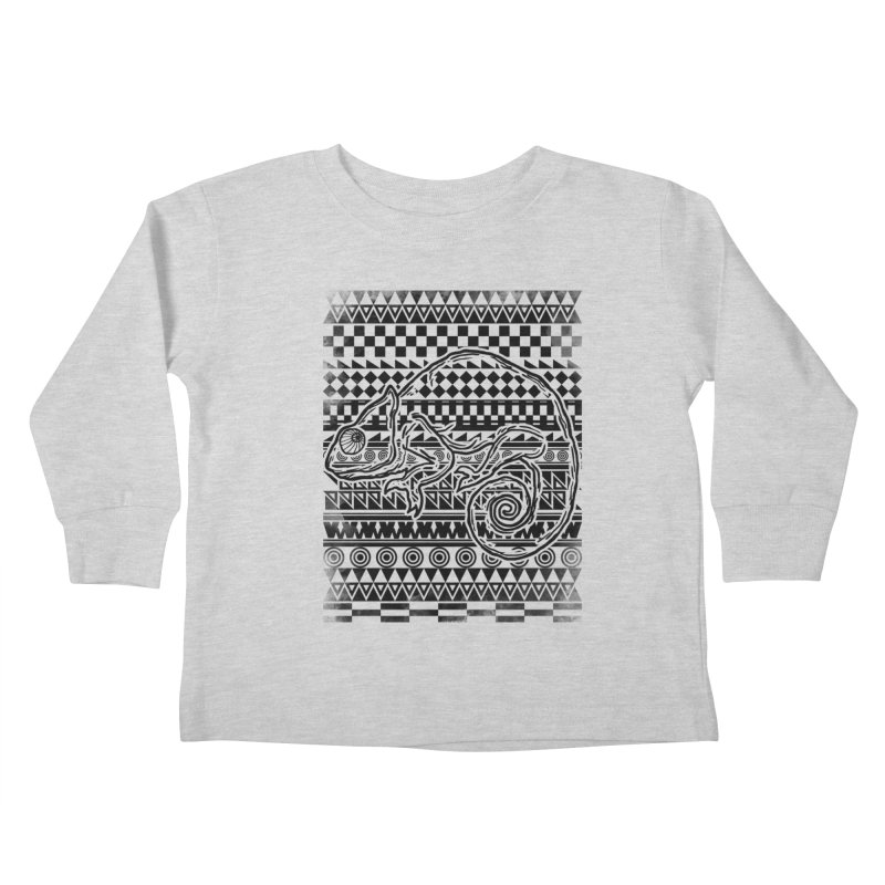 Chameleon Kids Toddler Longsleeve T-Shirt by jun21's Artist Shop