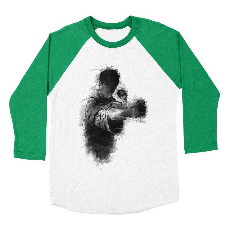 The Dragon Women's Baseball Triblend T-Shirt by jun21's Artist Shop