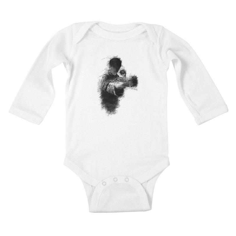 The Dragon Kids Baby Longsleeve Bodysuit by jun21's Artist Shop