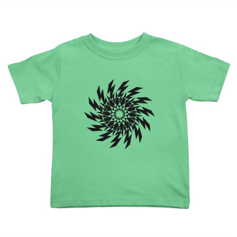 geometric lights Kids Toddler T-Shirt by jun21's Artist Shop