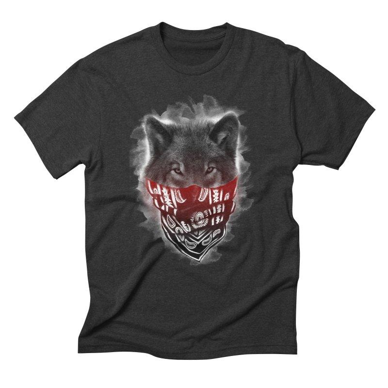 gangster Men's Triblend T-Shirt by jun21's Artist Shop