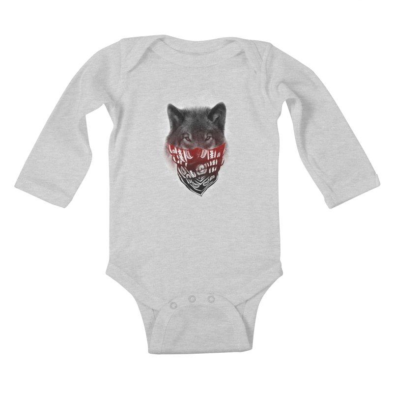 gangster Kids Baby Longsleeve Bodysuit by jun21's Artist Shop